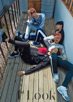 #BTS for 1st Look vol.95