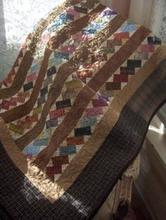 Stacked Bricks Quilt