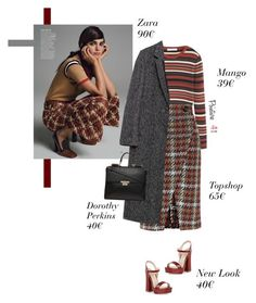 """""""Everyday Chic"""" by mrs-len on Polyvore featuring mode, MANGO, Topshop, Zara et Dorothy Perkins"""