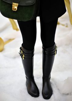 Burberry Belted Equestrian Rain Boots   http://ch.burberry.com/store/womens-accessories/shoes/weather-boots/prod-37708951-belted-equestrian-rain-boots/