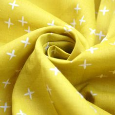 Birch - Bio Double Gauze - Wink - Marigold Marigold, Birch, Fabrics, Design, Tejidos, Cloths, Fabric, Textiles