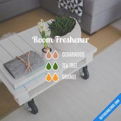 Room Freshener - Essential Oil Diffuser Blend