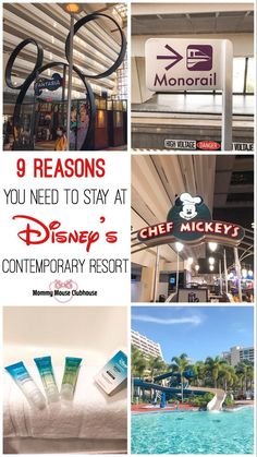 A mom's review of Disney's Contemporary Resort at Walt Disney World plus nine reasons why I think you should stay here on your next visit!