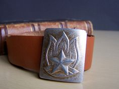 Vintage Soviet Pioneer Belt with Buckle USSR the by RarityFromAfar