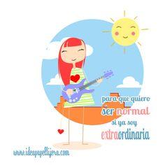 Graphic design, Draw, ilustración, niña, guitarra