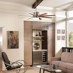 Araya Ceiling Fan by Monte Carlo Fans