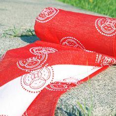 Red babywrap