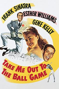 """Directed by Busby Berkeley.  With Frank Sinatra, Esther Williams, Gene Kelly, Betty Garrett. The Wolves baseball team gets steamed when they find they've been inherited by one K.C. Higgins, a suspected """"fathead"""" who intends to take an active interest in running the team. But K.C. turns outs to be a beautiful woman who really knows her baseball. Second baseman Dennis Ryan promptly falls in love. But his playboy roommate Eddie O'Brien has his own notions about how to treat the..."""
