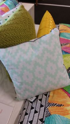 Cushion from Harvey Norman (back of pineapple cushion)