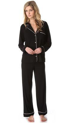 Eberjey Gisele PJ Set...I've always wanted a set of pajamas like this!