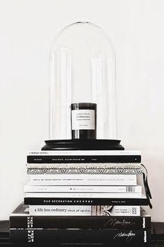 graphic black + white.