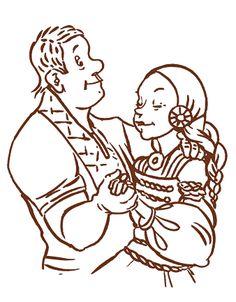 Sukuvirttä suoltamahan. Mythology