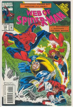 Title: Web Of Spider-Man | Year: 1985 | Publisher: Marvel | Number: 106 | Print: 1 | Type: Regular | TitleId: 11f736ac-5495-40c0-8d49-98b9608736e7