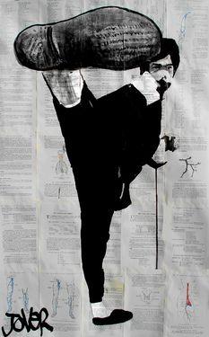 "Loui Jover; Drawing, ""bruce"""