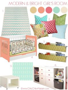 Toddler girl room henlee-s-big-girl-room