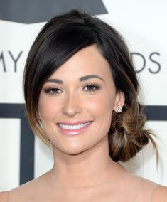 Love Kacey's Grammy hair! Might have to steal it for my wedding. Kacey Musgraves | The 13 Most Stunning Red Carpet Looks At The Grammys