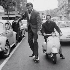 Clint Eastwood. Rome. 1965. :O