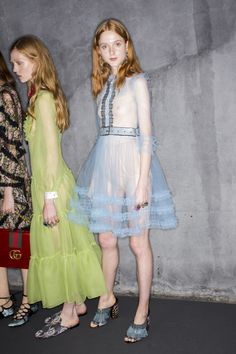 Gucci Spring 2016 Ready-to-Wear #backstage