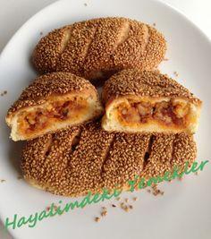 Potato Bagel with Pastry - Internationally Inspired Turkish Recipes, Greek Recipes, Roast Beef Dinner, Greek Cooking, Ramadan Recipes, Breakfast Items, Football Food, Middle Eastern Recipes, Mediterranean Recipes