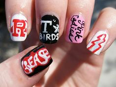 The Daily Nail: Grease is the Word