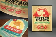 FREE this week: Realistic Flyer/Card Mock-Ups Vol.1 by Cruzine on Creative Market