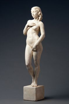 """After Boticelli"" by Deon Duncan, 29"" Hydrostone. Bronze medal winner, 78th National Sculpture Society Exhibition, 2011. Click through to learn about this contemporary response to Botticelli's masterpiece."