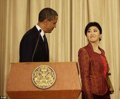 obama and thai prime minister - Google Search