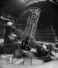 The Hooker telescope (Mount Wilson Observatory)