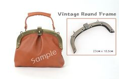 Vintage Round Frame, Antique color frame, made in KOREA, making Bags, Leather craft tool MLT-789 by MyLeatherTool on Etsy