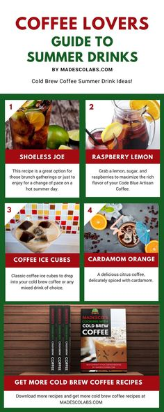 Enjoy your coffee as a cool refreshing blend during the hot… Summer Parties, Summer Drinks, Cold Brew Coffee Recipe, Coffee Ice Cubes, Coffee Infographic, Coffee Blog, Best Coffee, Coffee Coffee, Coffee Dessert