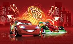 Large-wall-mural-photo-wallpaper-for-boys-room-Cars-2-Disney-McQueen-Neon