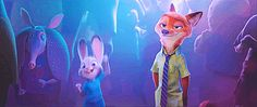 Judy Hopps and Nick Wilde, Zootopia