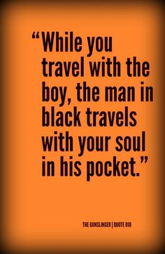... your soul in his pocket.