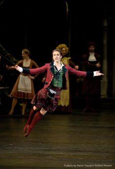 Andrey Merkuriev, principal dancer at the Bolshoi will perform Williams' choreography at the Edinburgh Festival Fringe in Edinburgh, Scotland.
