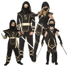 Familia Ninja Warriors #disfraces #carnaval #disfracesparagrupos