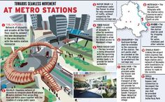 Hassle-free movement for vehicles at upcoming Metro stations in Delhi