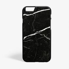 Roxxlyn iphone 6 case schwarz Carbonrahmen, Marmor nero