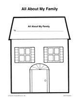 All About My Family Printable (Pre-K - 1st Grade) - TeacherVision.com