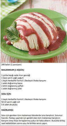 Herbalife Shake Tarifleri / Yaz Meyveli Hafif Pasta