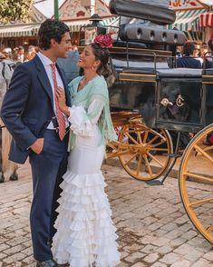 "Tomás Páramo on Instagram: ""Mi gitana!"" Flamenco Wedding, Most Beautiful, Beautiful Women, Dark Hair, Paramore, Fashion Dresses, Dance, Wedding Dresses, Lady"