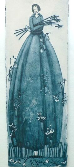 Scottish Porcelain, Illustrated ceramics by Wendy Kershaw