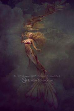 Model Hannah Fraser Photography by Cheryl Walsh  Tail by FinFolk