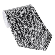 "Abstract Diamond Pattern Tie  Upgrade your wardrobe a custom tie from Zazzle! Design one-of-a-kind ties to match any suit, dress shirt, and occasion. Upload your own unique images and patterns, or browse thousands of stylish designs to wear in the office or on a night out in the town.      Dimensions:         Length: 55""         Width: 4"" (at widest point)     Printed in vibrant full color     Made from 100% polyester; silky finish     Double-sided printing available at small upcharge. Check…"