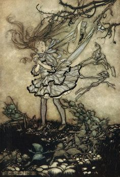 No one can portray the fairy world better than Arthur Rackham . Imitators since who acknowledge his influence and have copied or adapted his...