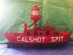 Vintage Scratchbuilt Light Vessel LV 78 SHIP Model | eBay
