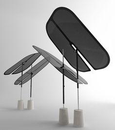 Samoa Design for more about their extraordinary Nenufar umbrellas