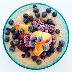 Lovley porridge made of quinoa by Anja Forsnor