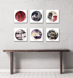 Photography Art Print, Set of 6 Prints,gallery Wall Prints,Hong Kong themed gallery wall prints,asia themed prints,art photography prints,