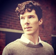 Perfect hair. Perfect everything. #benedictcumberbatch