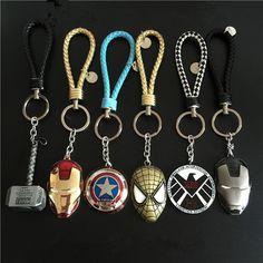 Marvel keychain set
